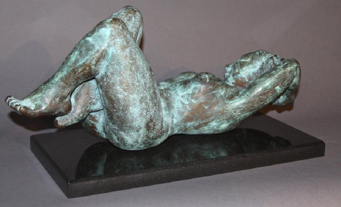 Reclining Nude Bronze, 20th century - 2