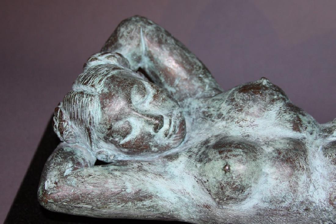 Reclining Nude Bronze, 20th century - 3