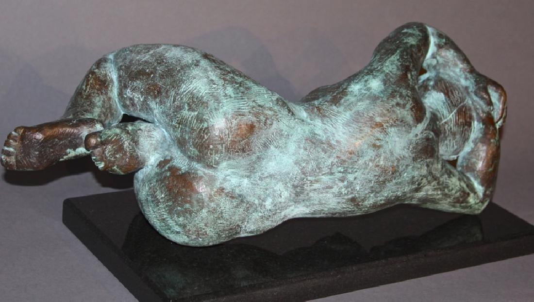 Reclining Nude Bronze, 20th century - 5