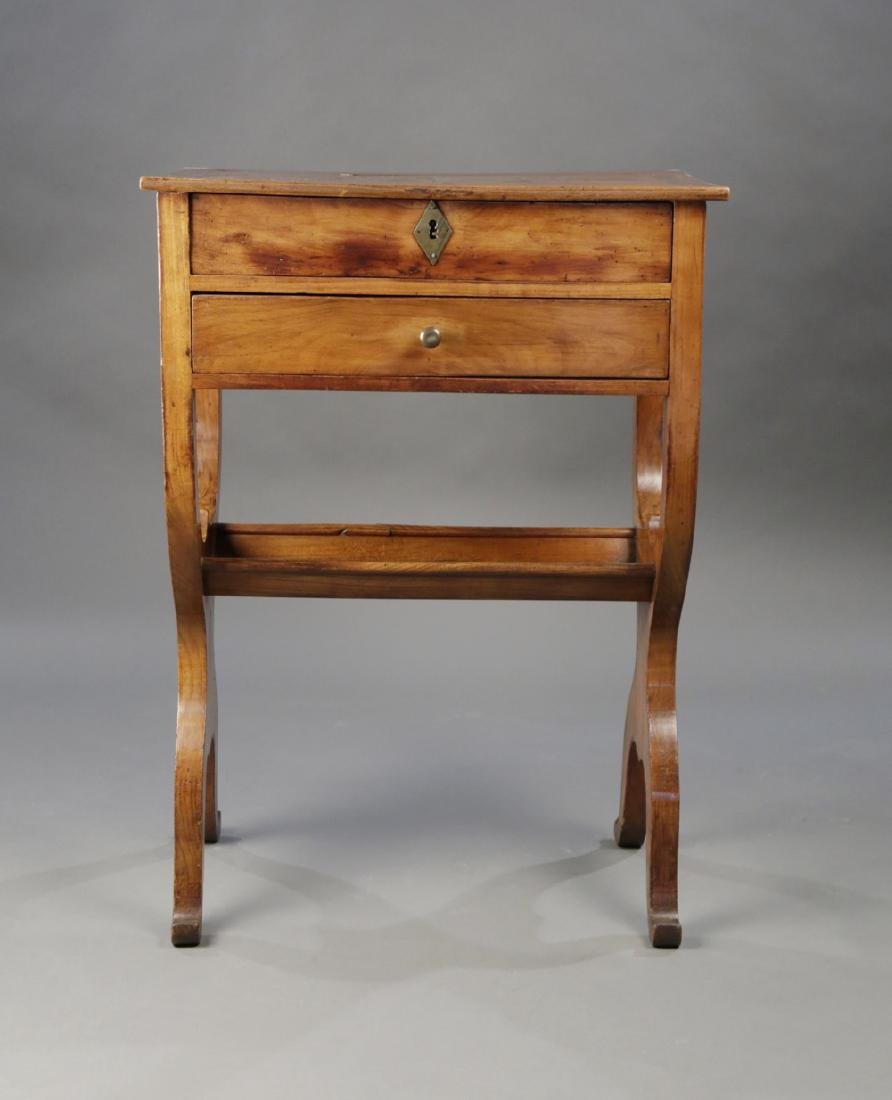 Provincial French Fruitwood Occasional Table, 18thc. - 2