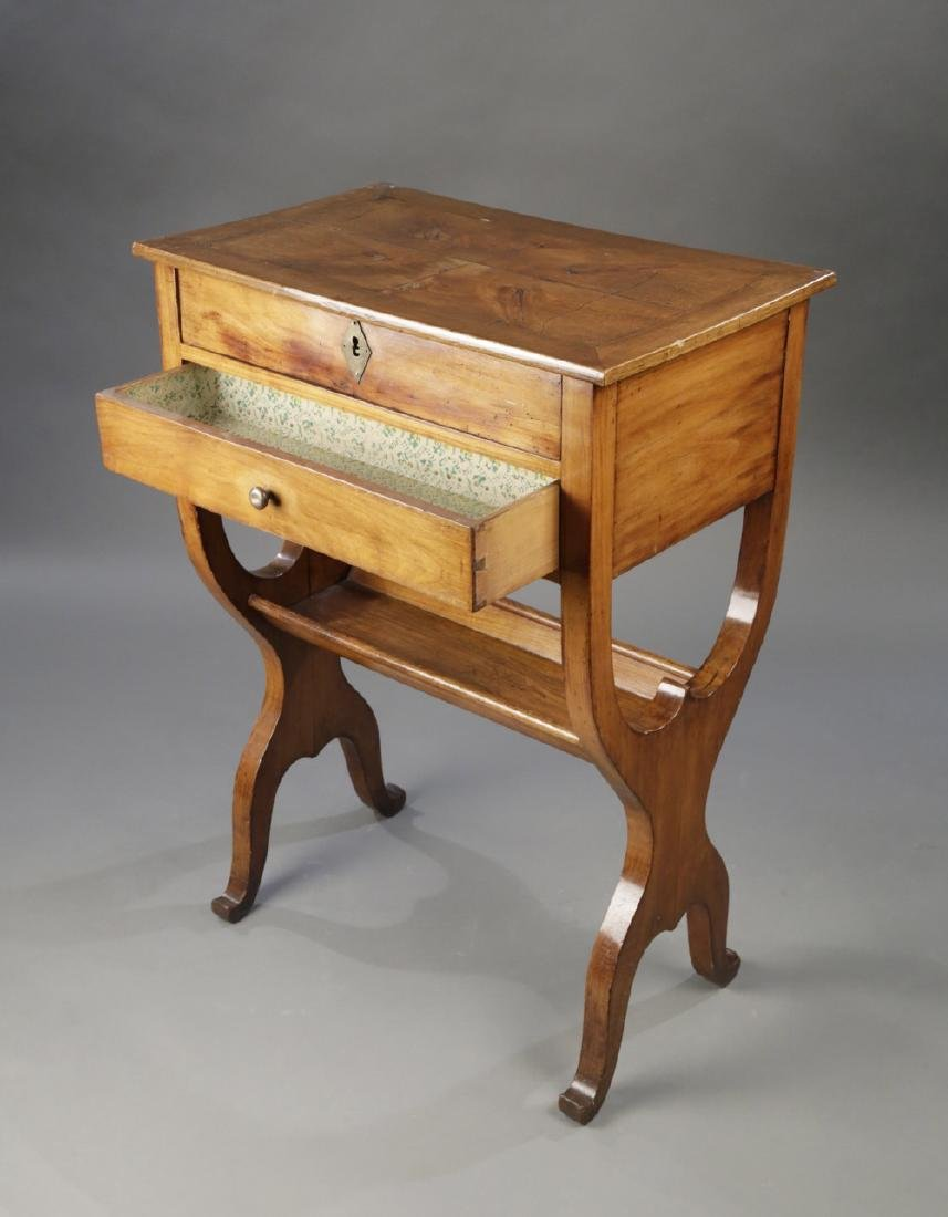 Provincial French Fruitwood Occasional Table, 18thc. - 3