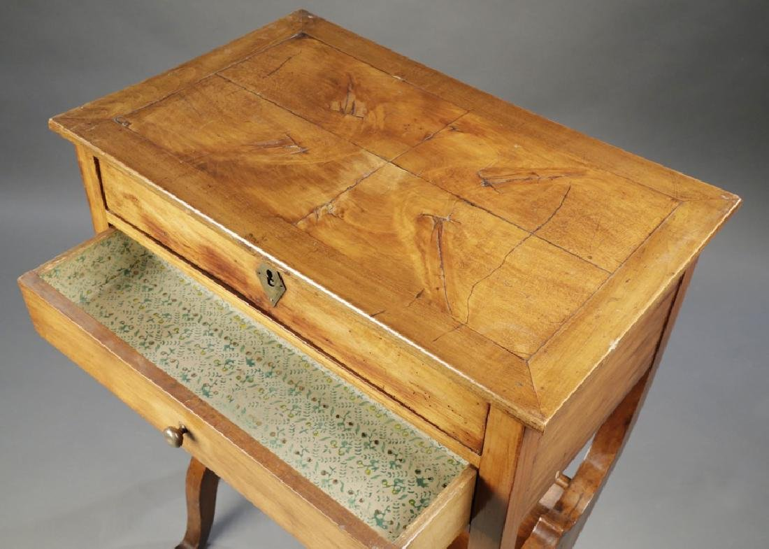 Provincial French Fruitwood Occasional Table, 18thc. - 4