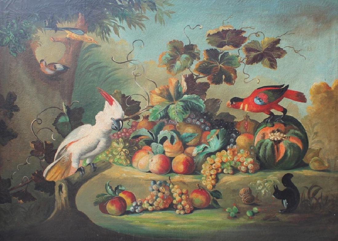 Still Life with Fruit and Birds, c.1930
