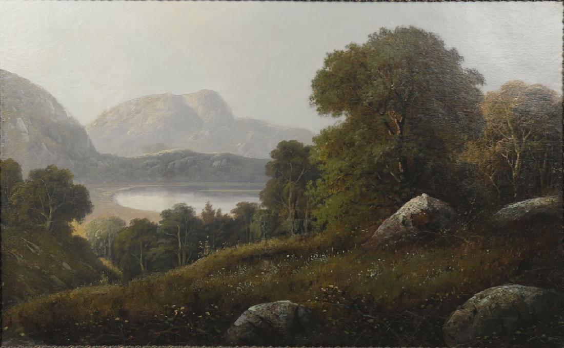 River Valley Landscape, 19th Century American School