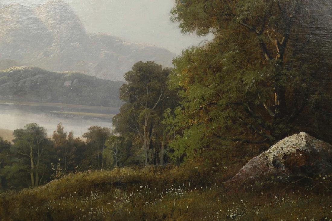 River Valley Landscape, 19th Century American School - 3