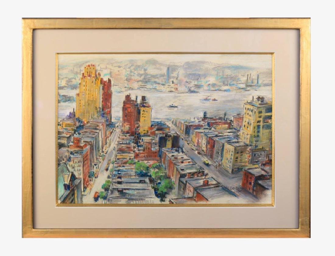 Michael Zelenko (American 1890 - 1950) Hudson River