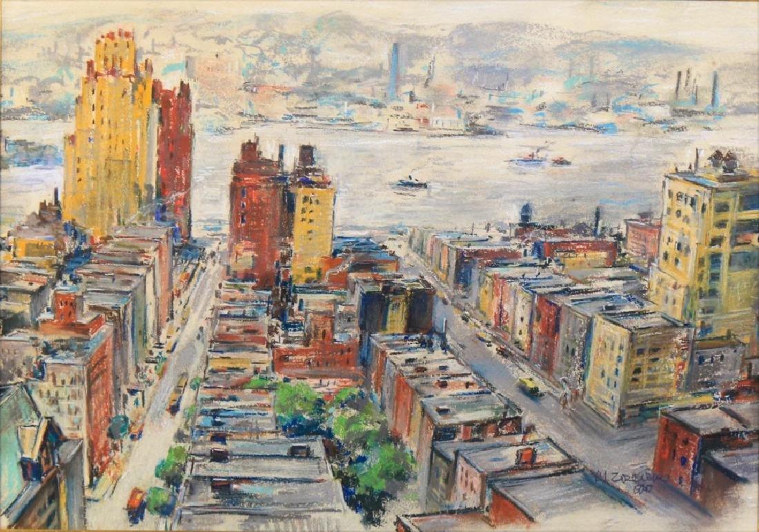 Michael Zelenko (American 1890 - 1950) Hudson River - 2