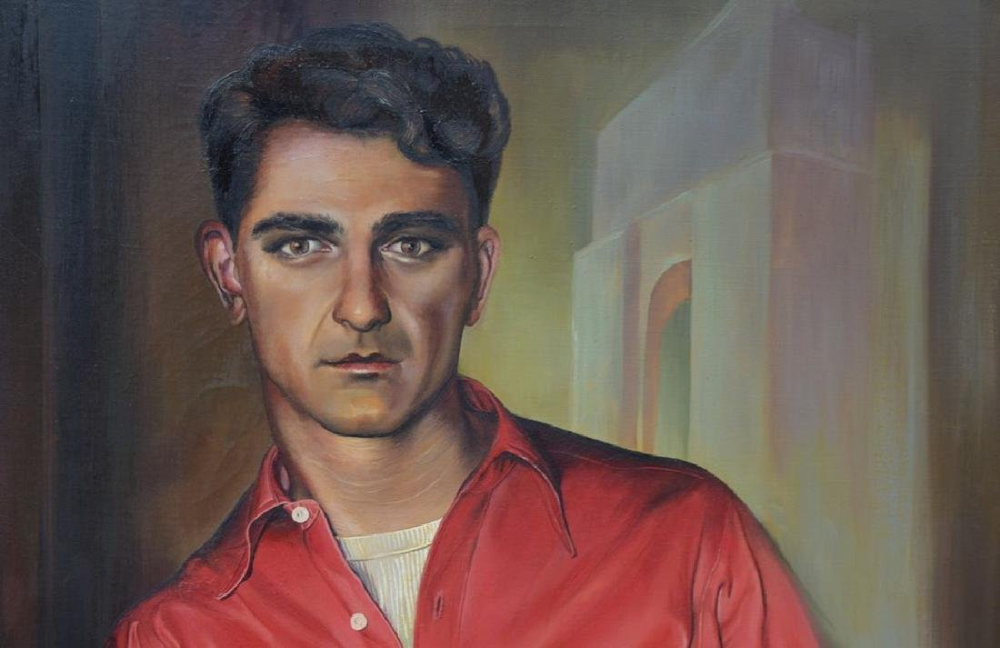 Ruth Bellitto (American 1922 - 1997) Portrait of a Man - 3