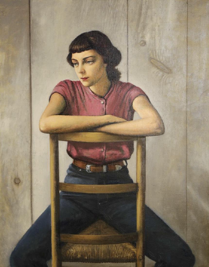 Stevan Dohanos (American 1907 - 1994) Young Girl
