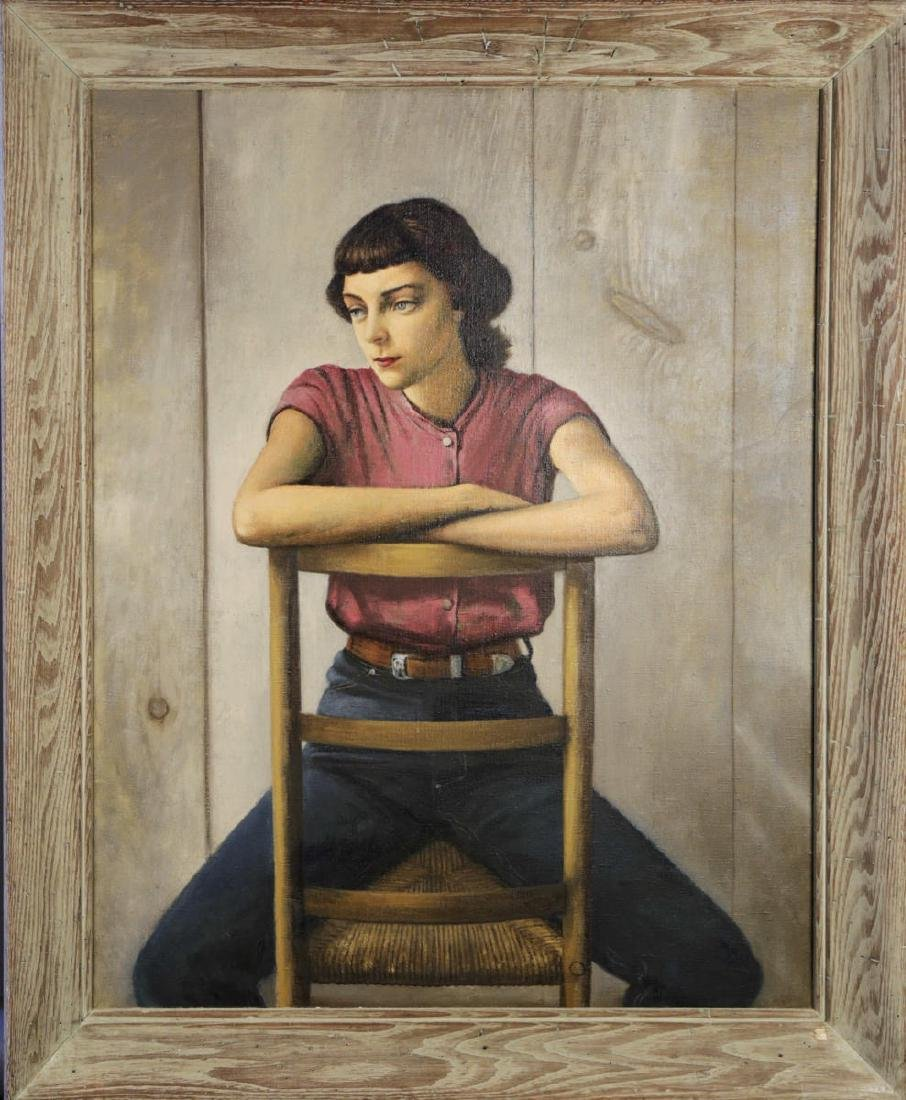 Stevan Dohanos (American 1907 - 1994) Young Girl - 2