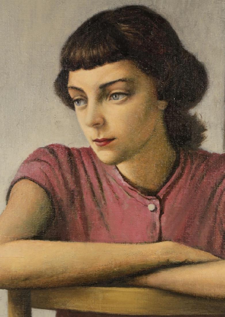 Stevan Dohanos (American 1907 - 1994) Young Girl - 3