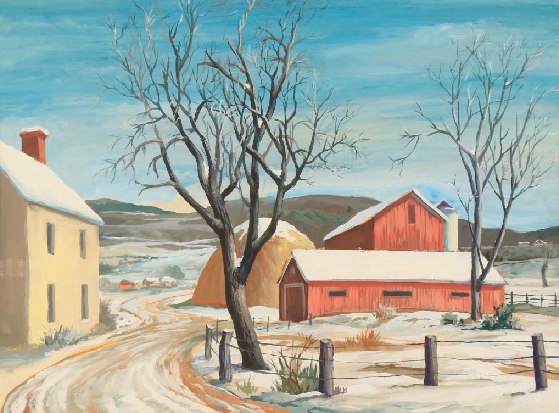 Elmer Ladislaw Novotny (American 1909 - 1997) - 2