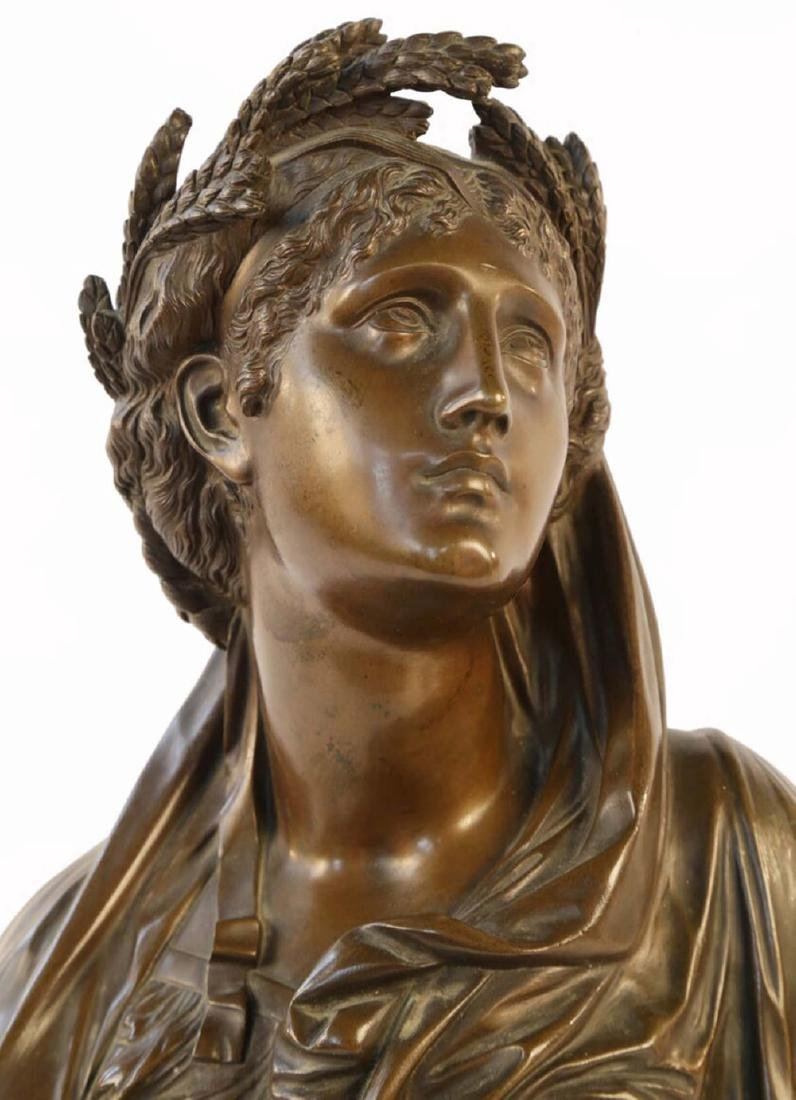 Bronze Bust of Ceres, 19th c. French School - 2