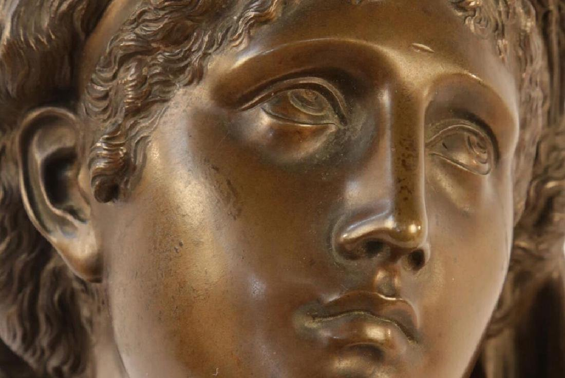 Bronze Bust of Ceres, 19th c. French School - 3