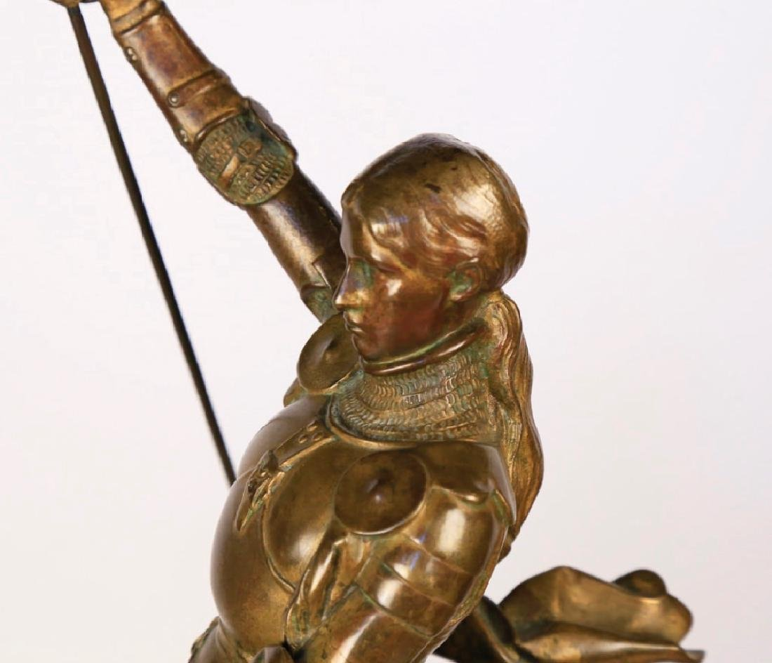 Emmanuel Fremiet (French 1824 - 1910)  Jeanne d'Arc - 2