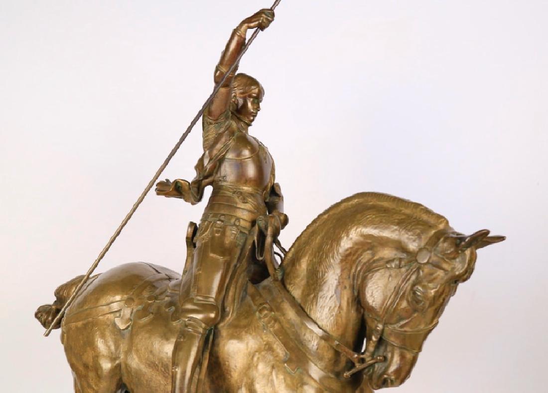 Emmanuel Fremiet (French 1824 - 1910)  Jeanne d'Arc - 8