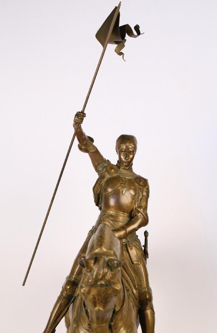 Emmanuel Fremiet (French 1824 - 1910)  Jeanne d'Arc - 9