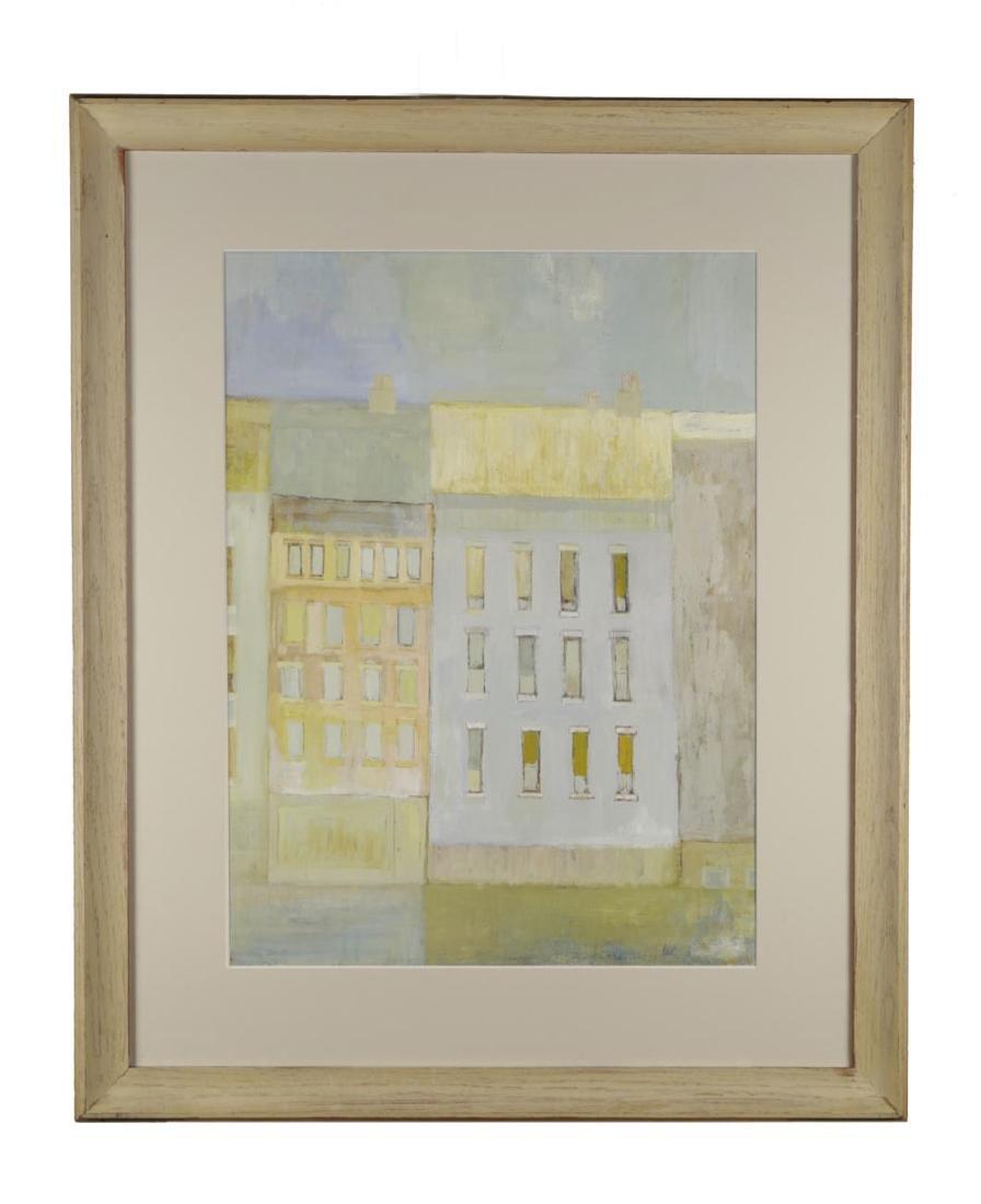 Richard Kish (American, 20thc.)  Buildings, 1961
