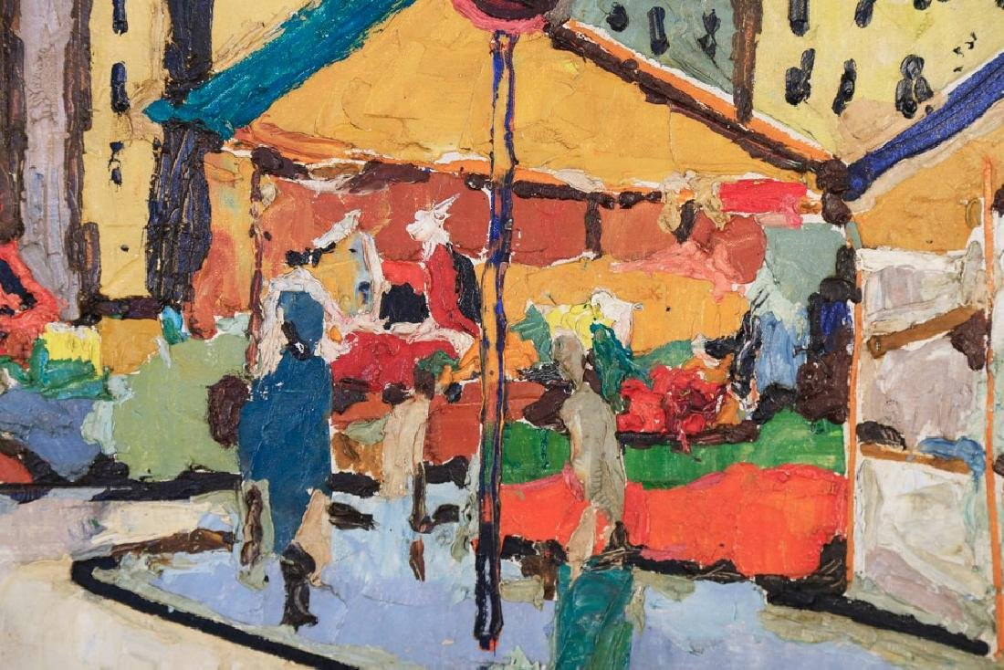 Agnes Brodie (French 20thc.) - Paris City Street, 1962 - 3