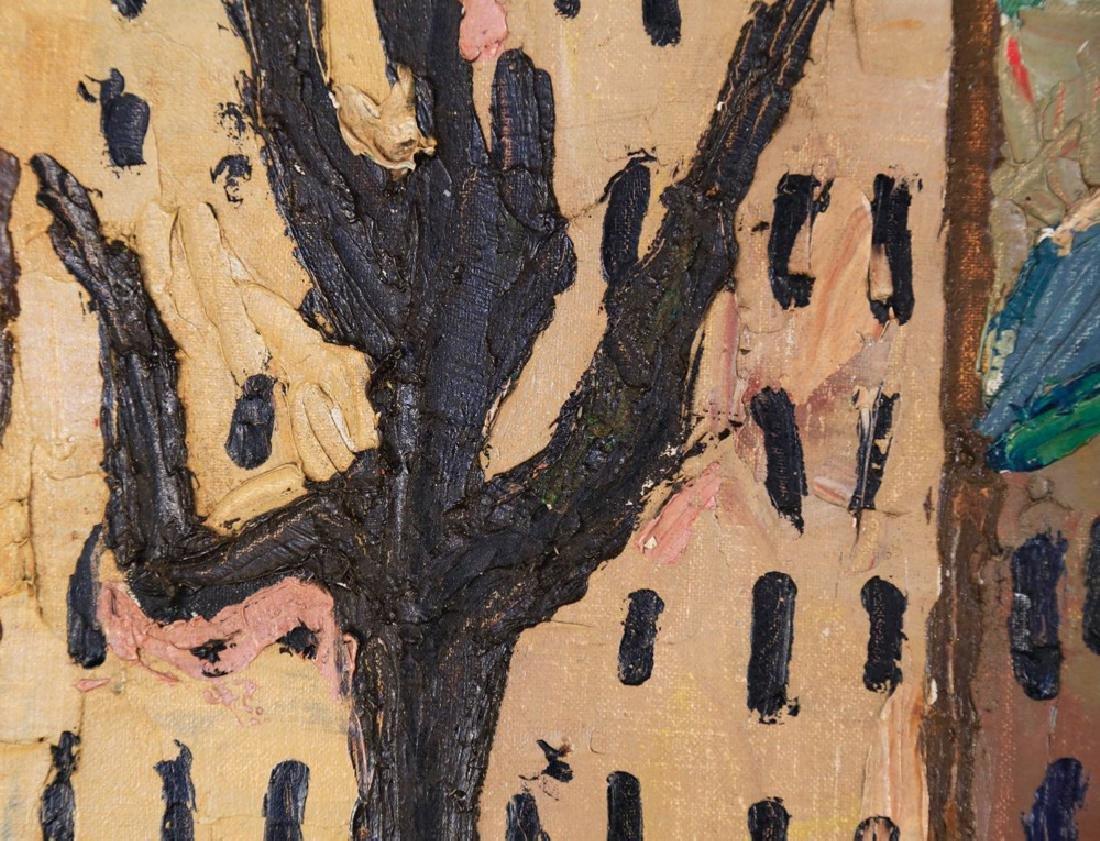 Agnes Brodie (French 20thc.) - Paris City Street, 1962 - 4