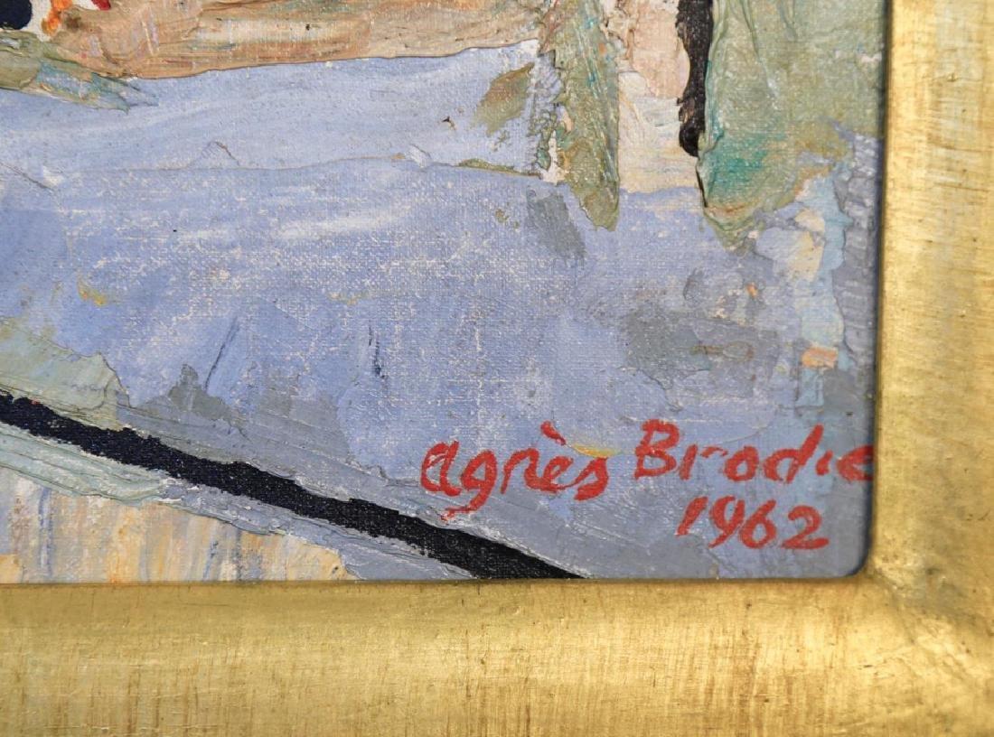 Agnes Brodie (French 20thc.) - Paris City Street, 1962 - 6