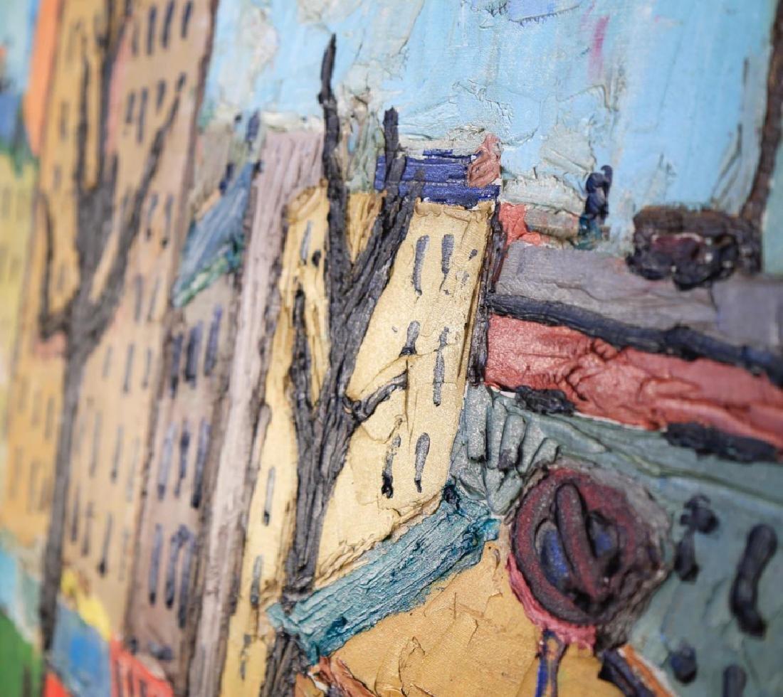 Agnes Brodie (French 20thc.) - Paris City Street, 1962 - 7