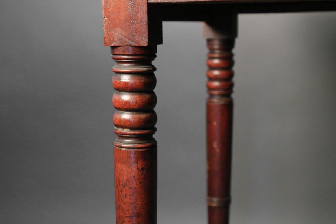 English Sheraton Mahogany Pembroke Table, 19thc. - 4