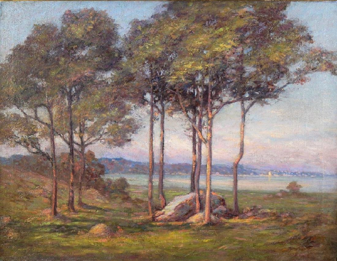 20thc. American School, Landscape