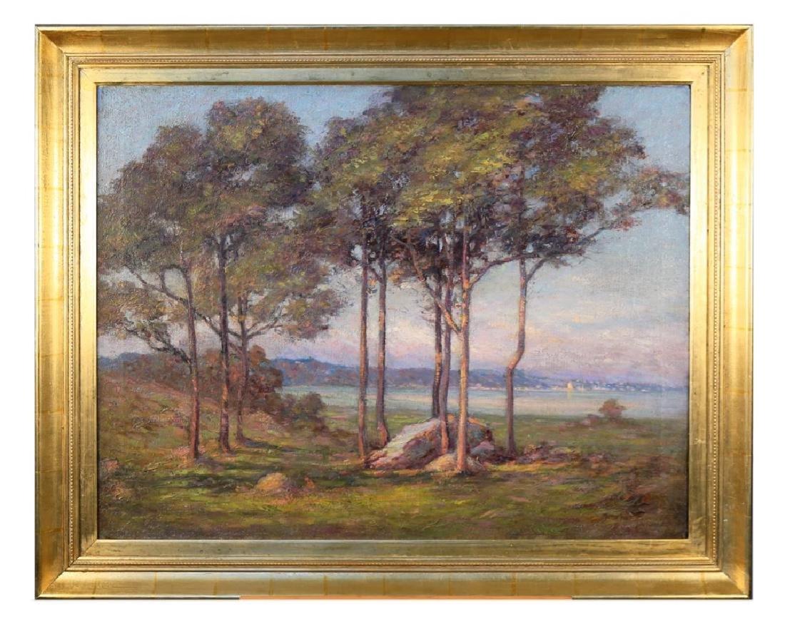 20thc. American School, Landscape - 2