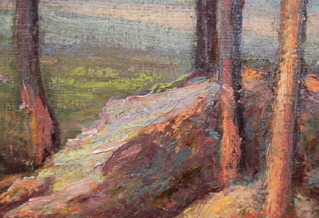 20thc. American School, Landscape - 5
