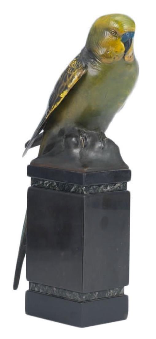 Sigismund Wernekinck (German 1872 - 1921) Parakeet