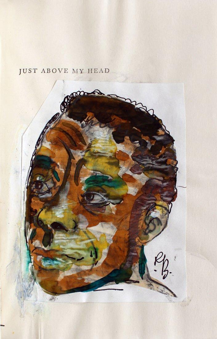 Romare Bearden (American 1911 - 1988) James Baldwin