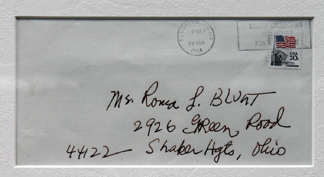 Romare Bearden (American 1911 - 1988) Framed Letters - 4