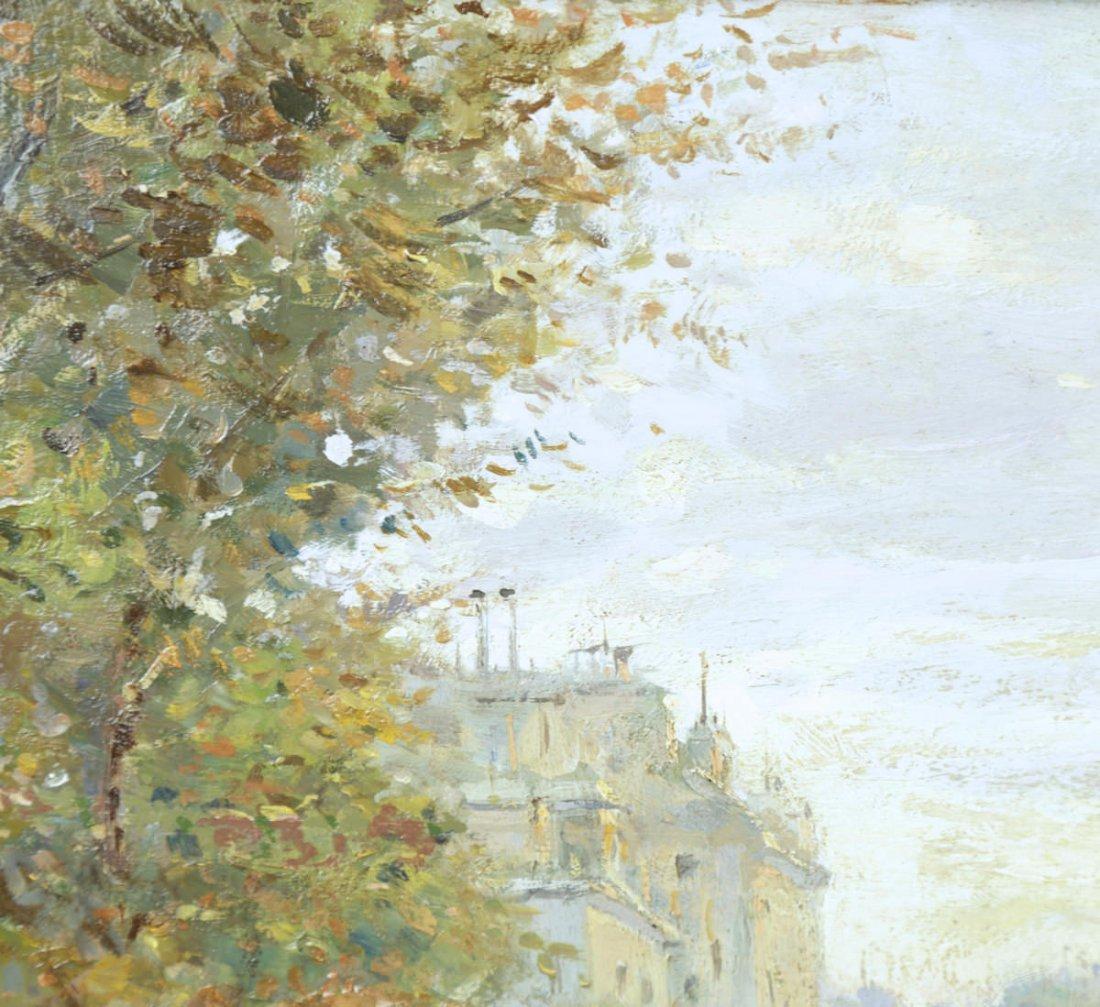 Parisian Street Scene, Avenue Montaigne, 19th Century - 5