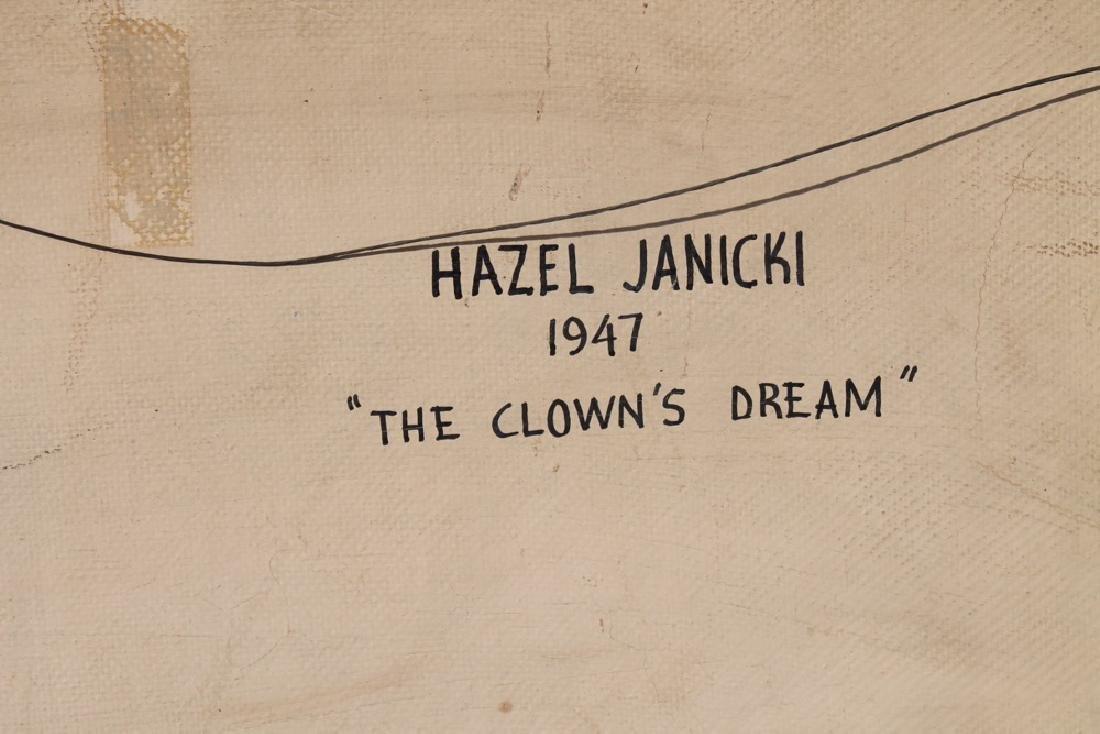Hazel Janicki (American 1918 - 1976) The Clown's Dream - 10