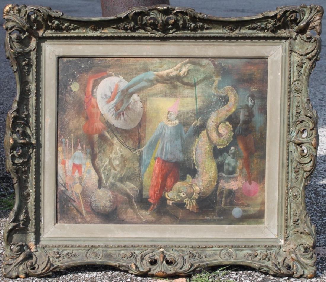 Hazel Janicki (American 1918 - 1976) The Clown's Dream - 2