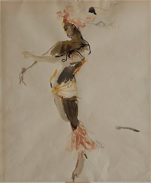Sam Scott (American, 20th century) Costume Study