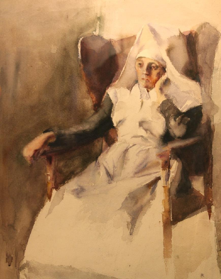 Grace Young (American 1869 - 1947) Nun