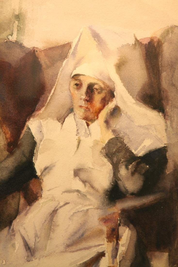 Grace Young (American 1869 - 1947) Nun - 3