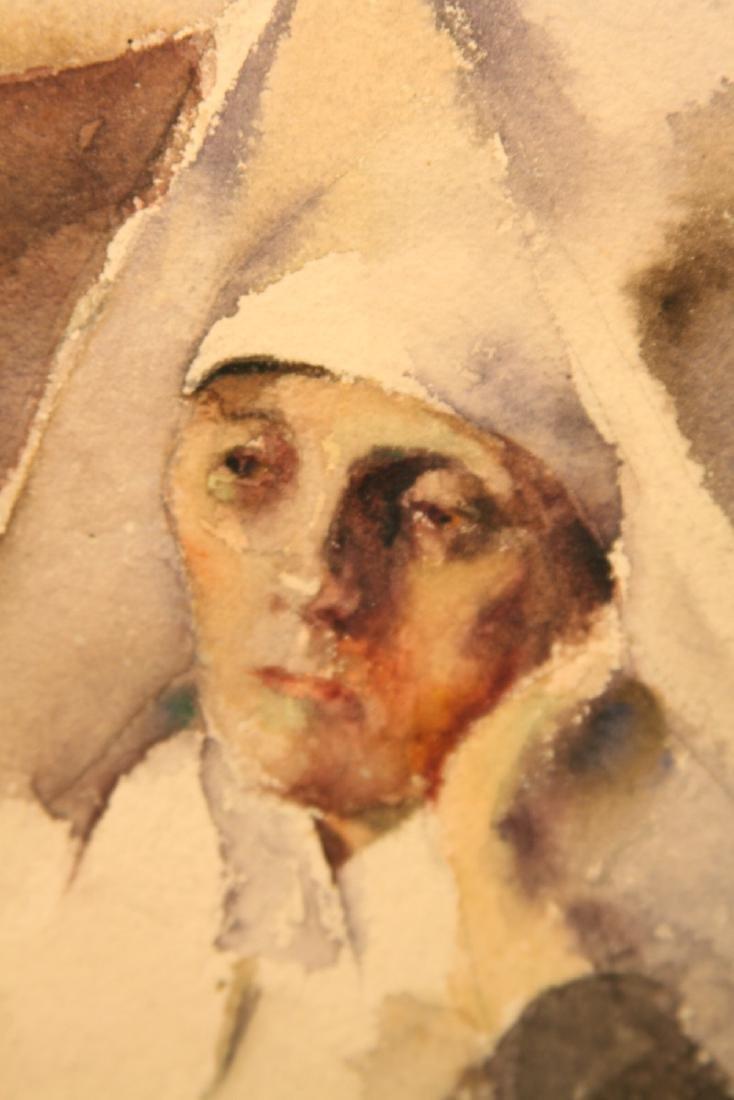Grace Young (American 1869 - 1947) Nun - 4