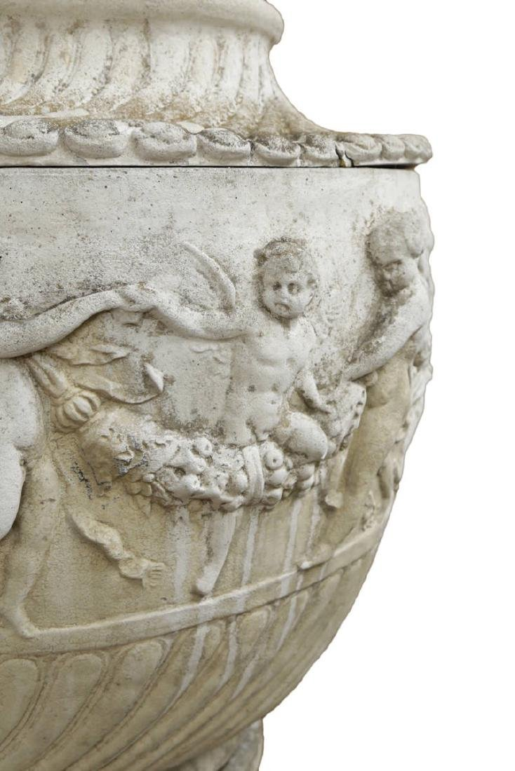 An Elegant Monumental Classical Style Single Urn - 2