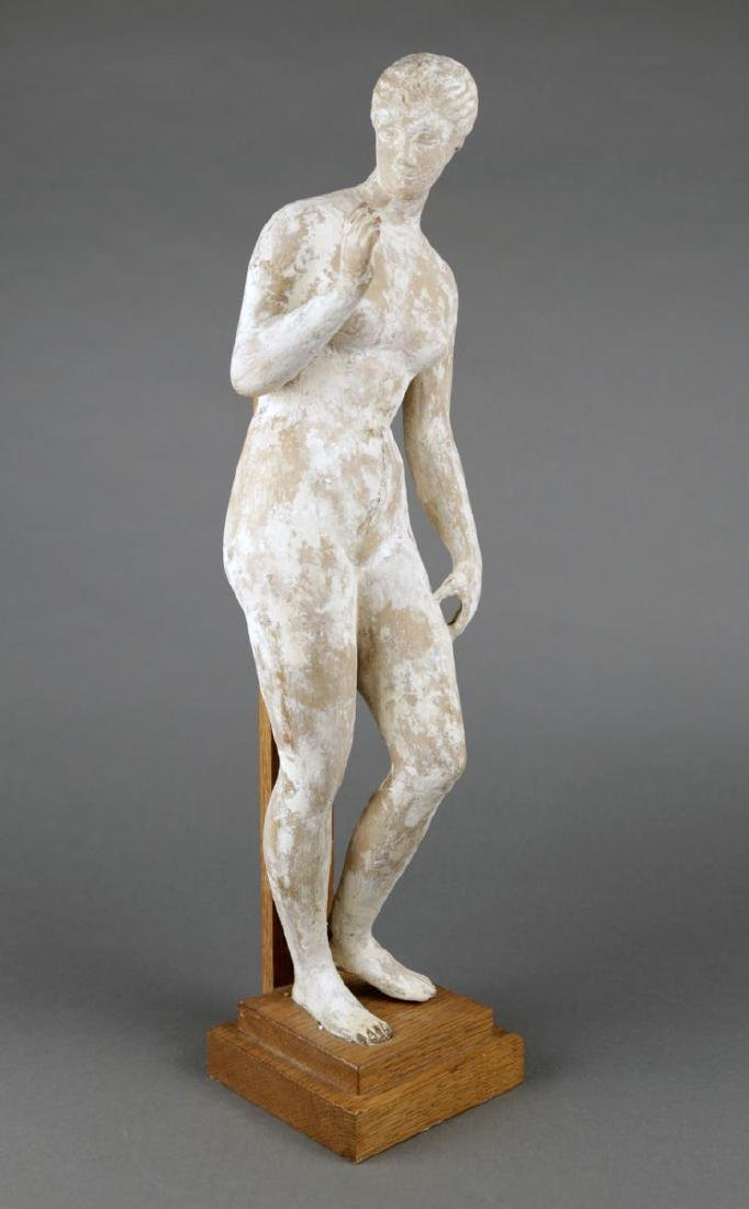 A Terracotta Figure of a Standing Nude, c. 1920 - 2