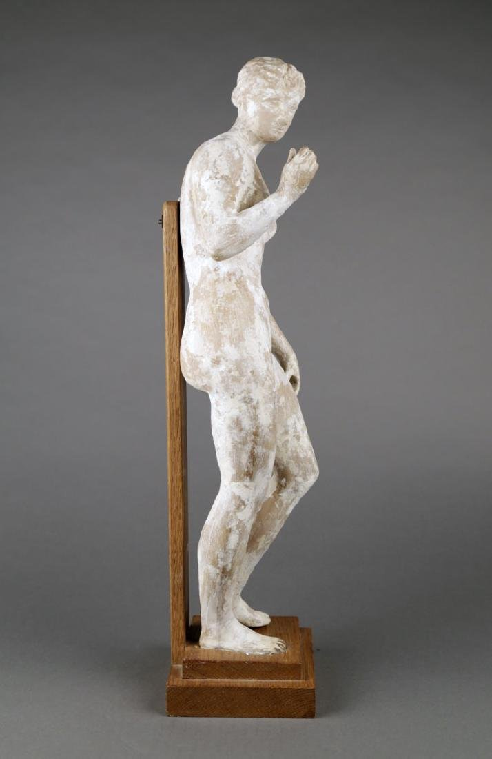 A Terracotta Figure of a Standing Nude, c. 1920 - 3