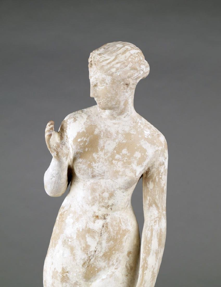 A Terracotta Figure of a Standing Nude, c. 1920 - 5