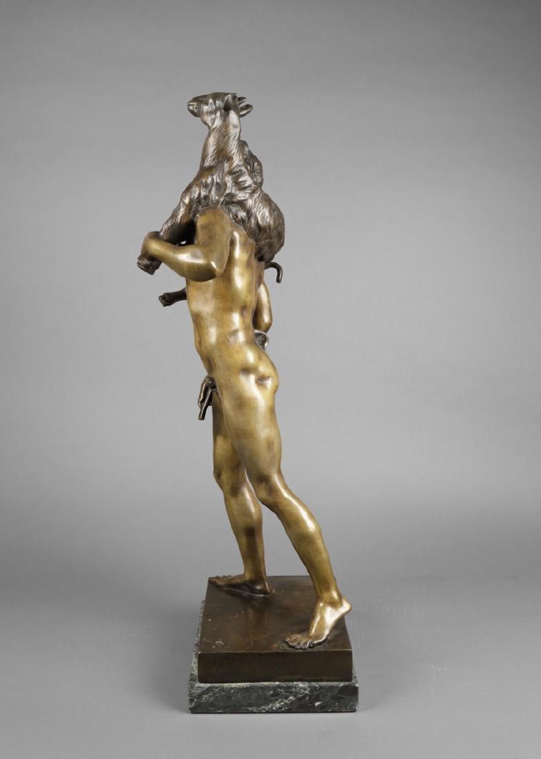 Bronze Figure of Classical Shepherd, after Picault - 2