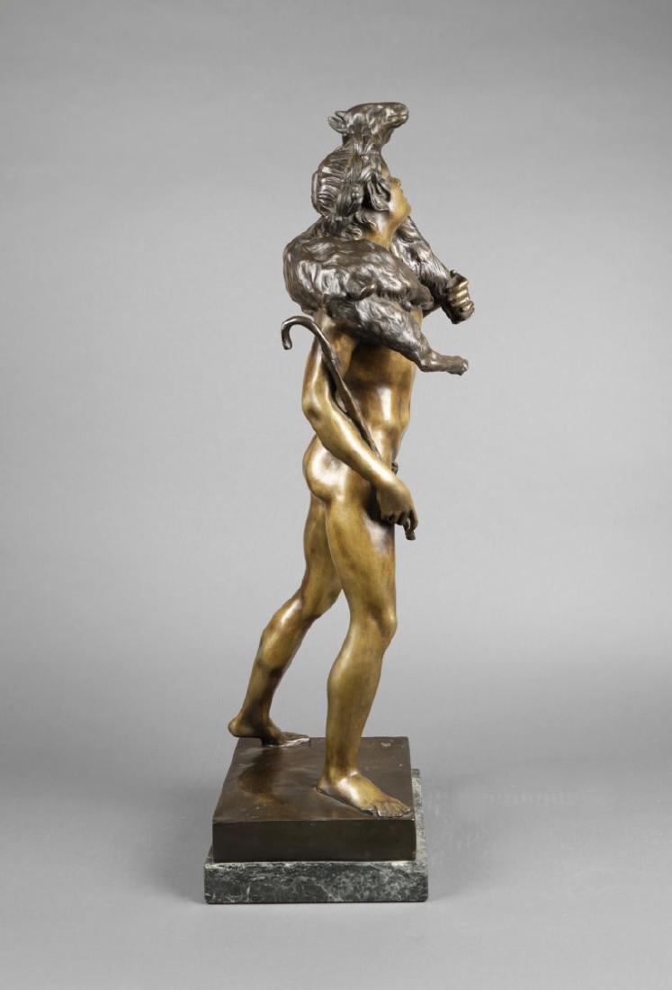 Bronze Figure of Classical Shepherd, after Picault - 3