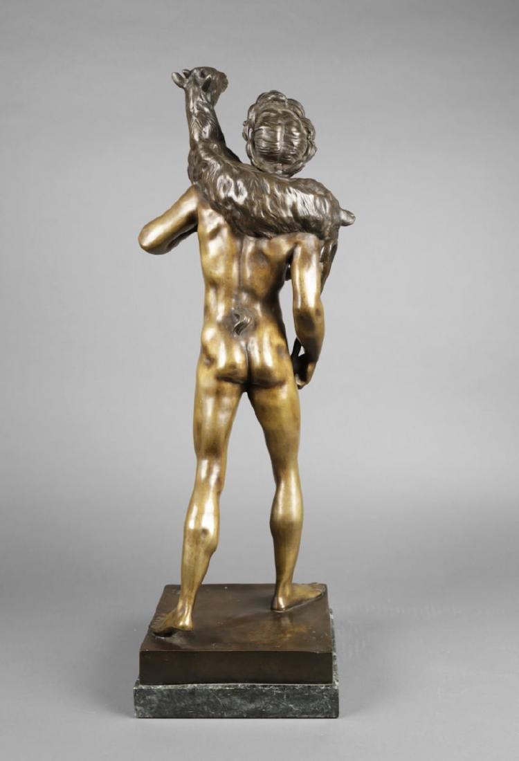 Bronze Figure of Classical Shepherd, after Picault - 4