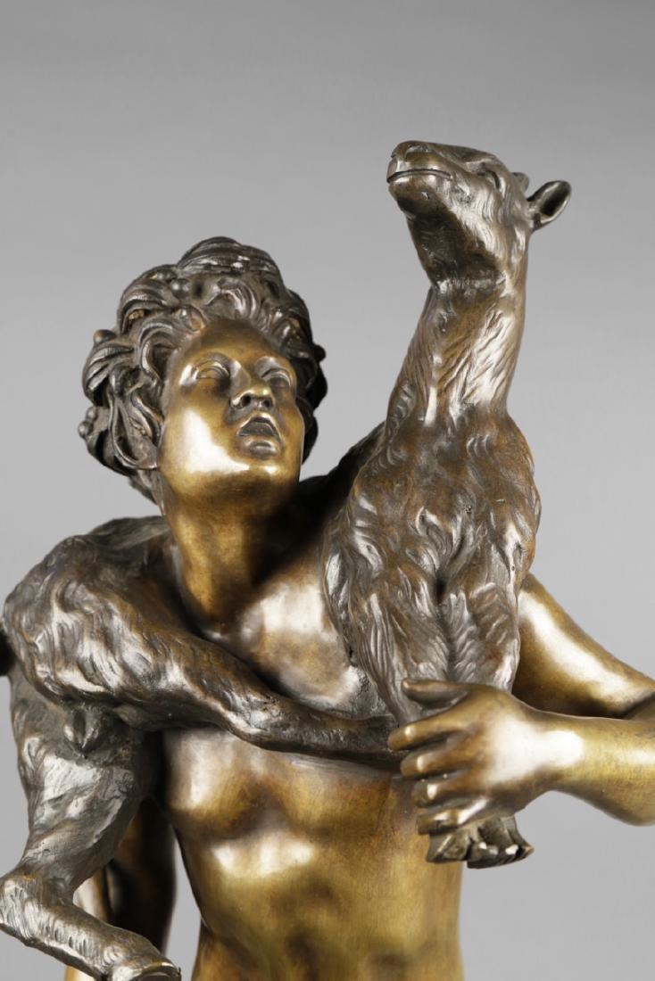 Bronze Figure of Classical Shepherd, after Picault - 6