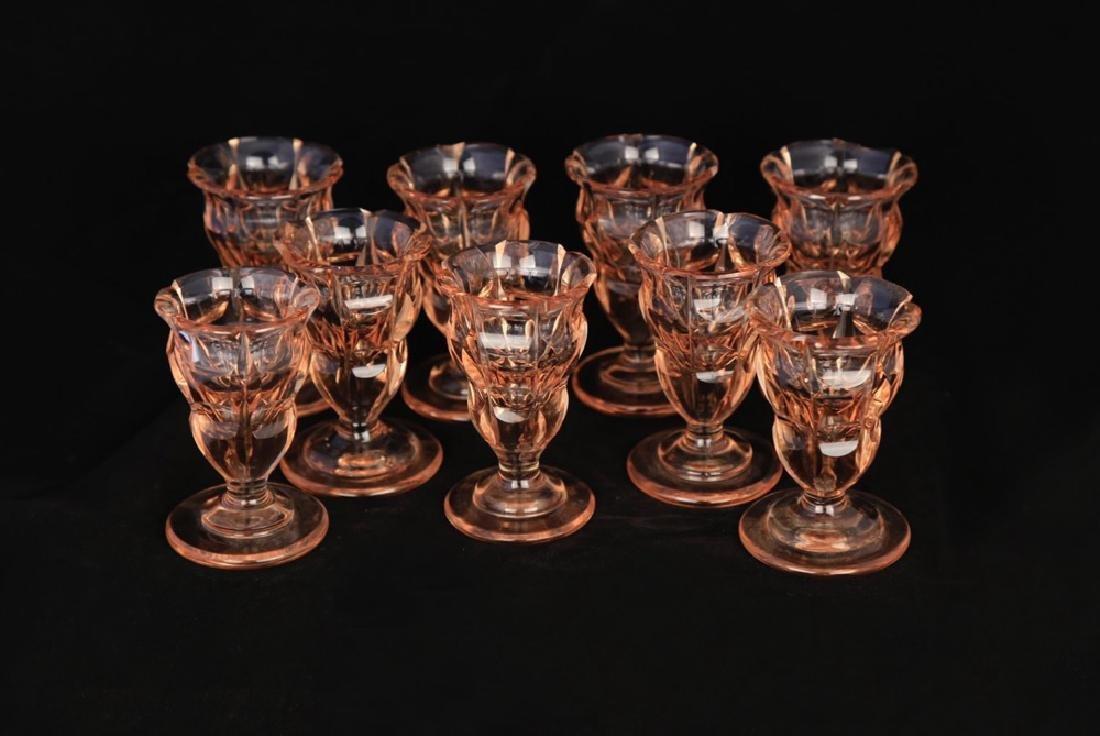 Moser Alexandrite Glass Cordial Set - 12