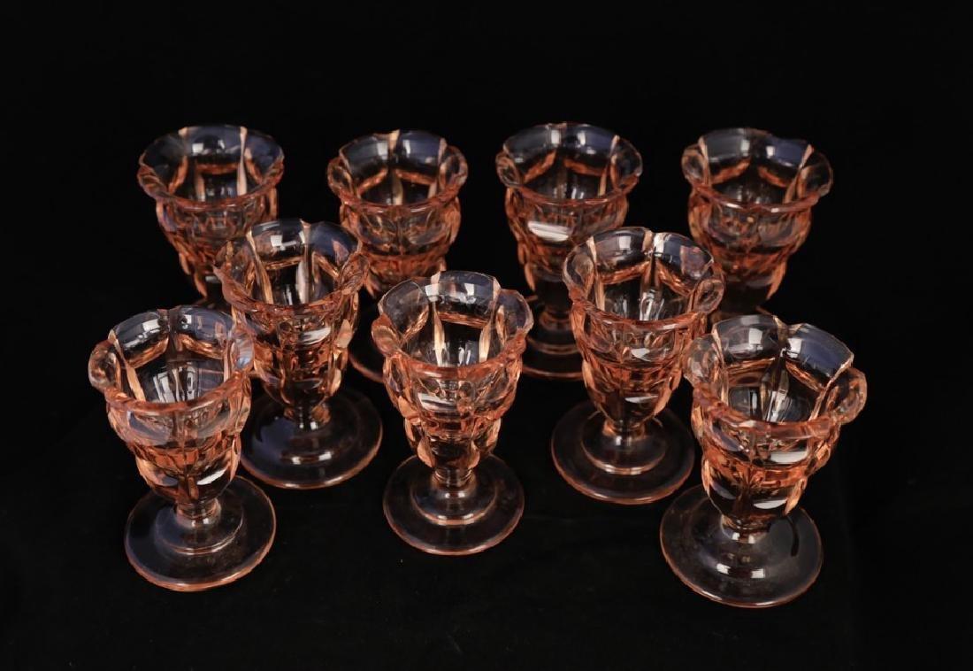 Moser Alexandrite Glass Cordial Set - 13